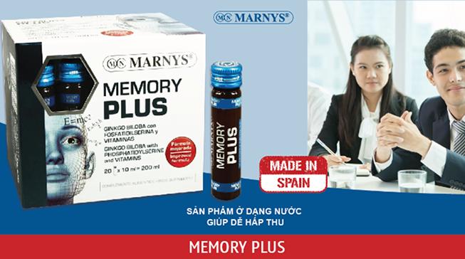Memory Plus tăng cường trí nhớ