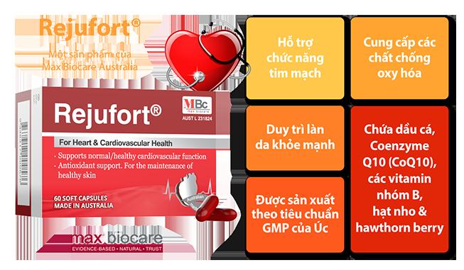 thuốc rejufort có tác dụng gì