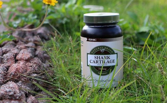 shark cartilage gnc 180 viên Mỹ