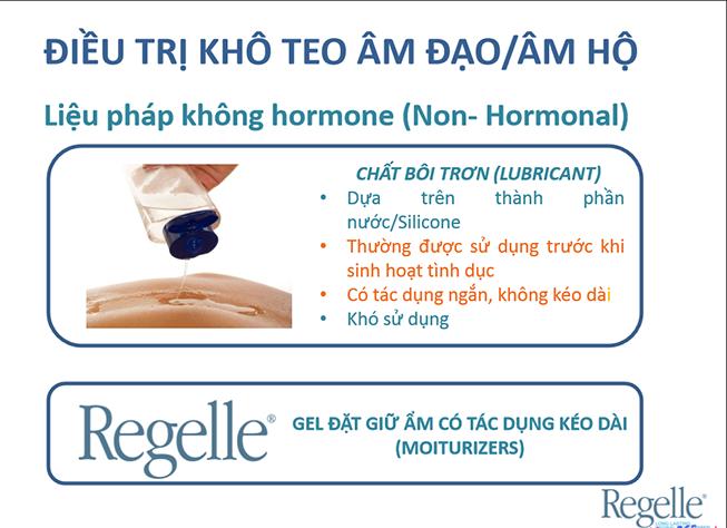 Thuốc chữa khô âm đạo Regelle