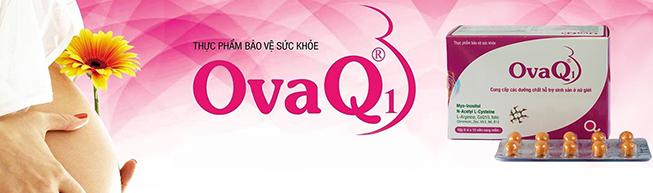 OvaQ1 hỗ trợ sinh sản nữ giới