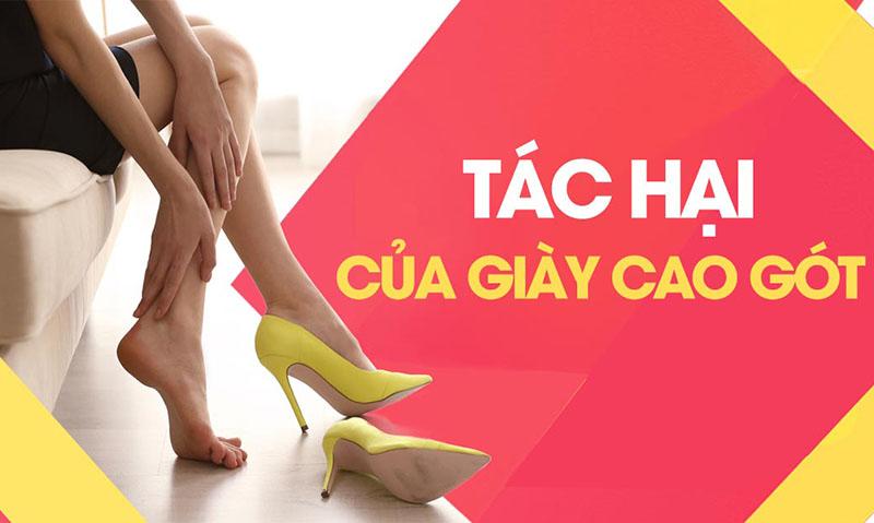 Những nguy hiểm khôn lường cho phụ nữ khi đi giày cao gót