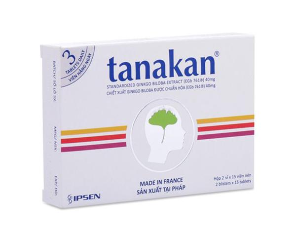 Tanakan (Ginko biloba)
