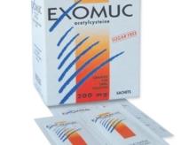 Exomuc (acetylcystein)
