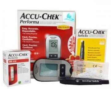 Máy đo đường huyết Accu-chek Perfoma