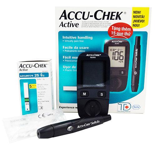 Máy đo đường huyết Accuchek Active