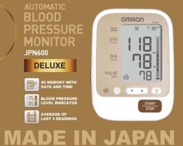 Máy đo huyết áp tự động bắp tay Omron JPN 600
