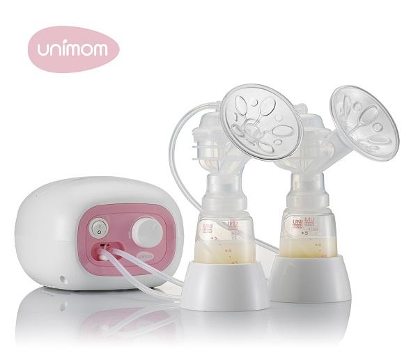 Máy hút sữa điện đôi Unimom Forte UM880113 của Hàn Quốc