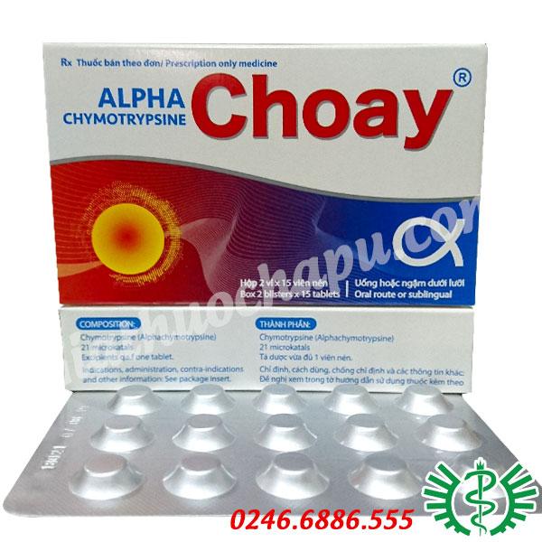 Alpha Choay (Chymotrypsin)
