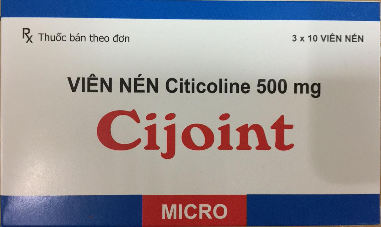 Cijoint (Citicoline 500 mg)