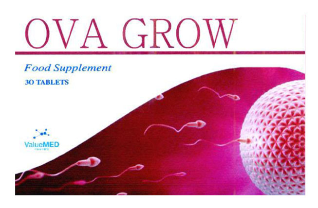 OVA GROW tăng khả năng thụ thai