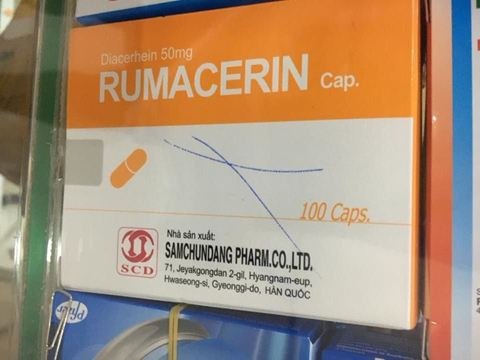 RUMACERIN điều trị thoái hóa khớp