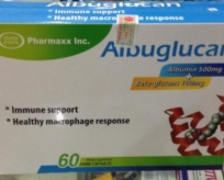 Albuglucan (Albumin + Betaglucan)