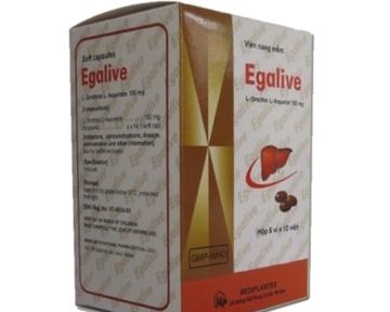 Egalive Bổ gan - Giải độc gan