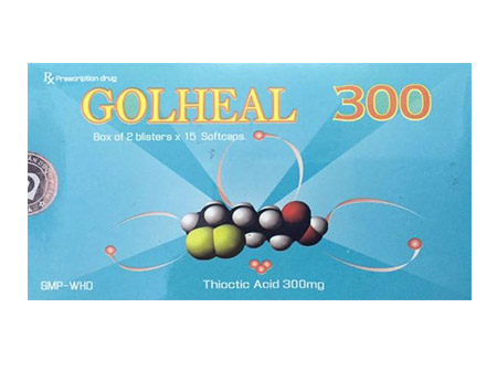 GOLHEAL 300 Thioctic Acid (Alpha Lipoic Acid)