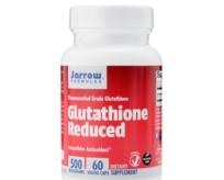 Viên uống trắng da Glutathione 500 mg lọ 60 viên hãng Jarrow - Mỹ