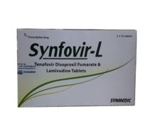 SYNFOVIR-L (Tenofovir disoproxil fumarat & lamivudin)