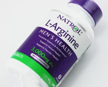 L – Arginine 3.000 mg chữa xuất tinh sớm, lọ 90 viên, hãng NATROL – Mỹ