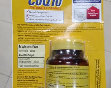 Coenzyme Q10 (CoQ10) 200 mg lọ 140 viên, hãng NatureMade - Mỹ giúp bảo vệ tim mạch