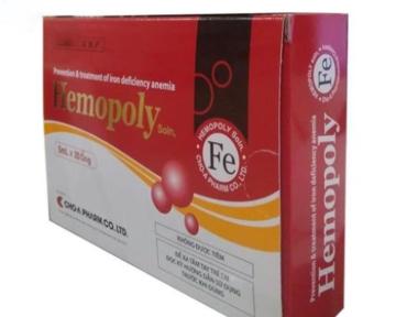 Hemopoly - Bổ  máu, chữa thiếu máu