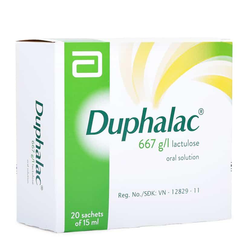 Duphalac® nhuận tràng, chữa táo bón