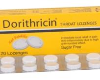 DORITHRICIN® Viên ngậm họng