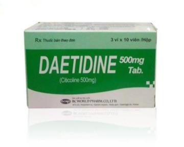 DAETIDINE Tab (Citicolin 500mg)