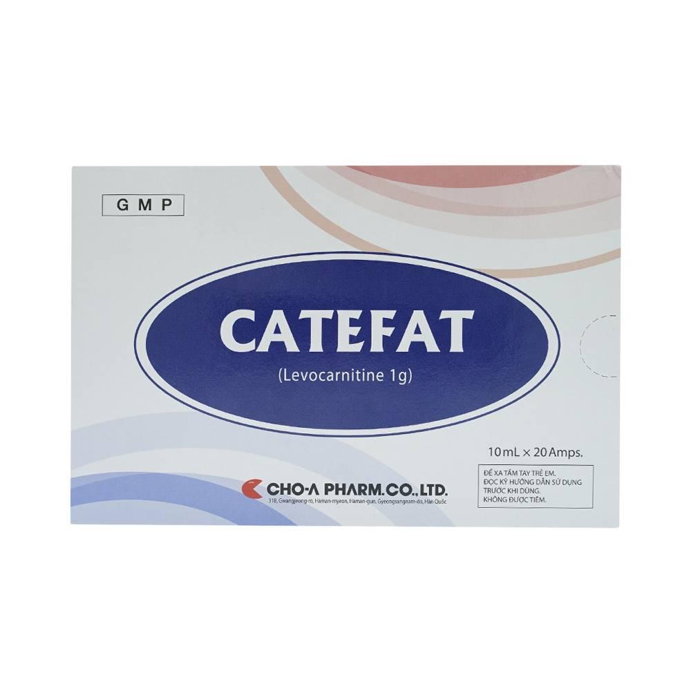 CATEFAT (Levocarnitin)