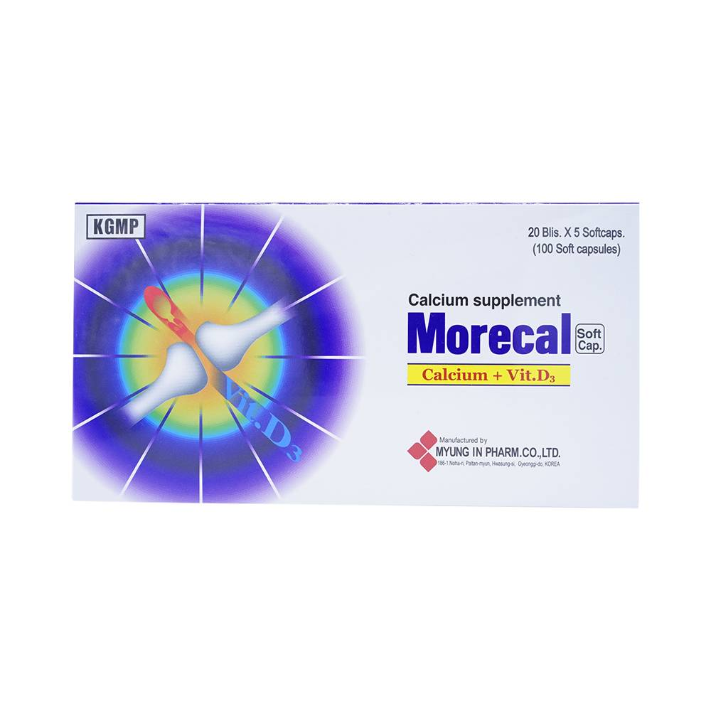MORECAL Soft capsule