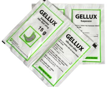 GELLUX (Hỗn dịch uống sucralfat 1 g)