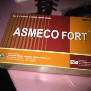 Thuốc ASMECO FORT bổ máu chữa thiếu máu