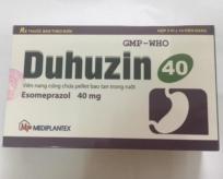 DUHUZIN 40 (Esomeprazol 40 mg)
