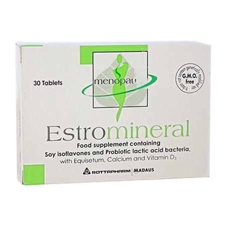 Estromineral (Soy isoflavon - mầm đậu nành)