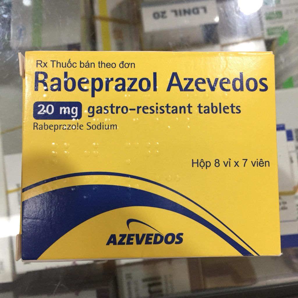 RABEPRAZOL AZEVEDOS 20MG