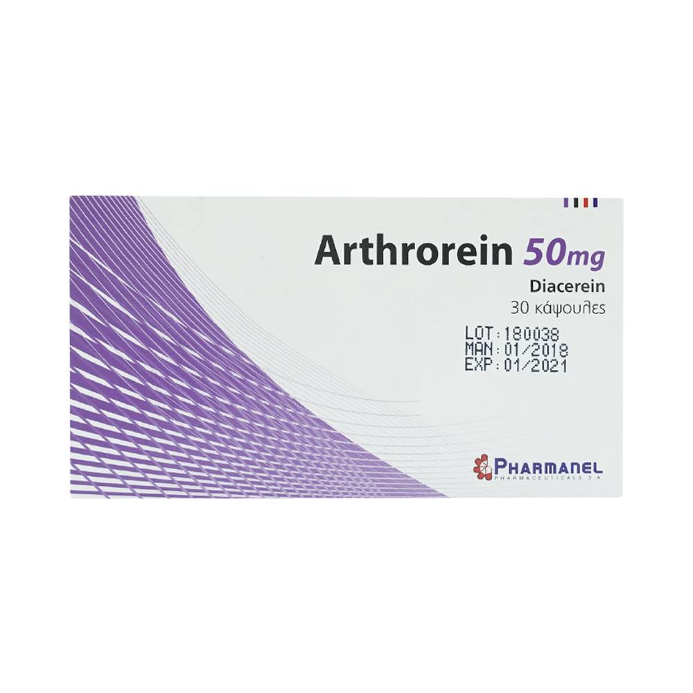 ARTHROREIN (Diacerein 50 mg)