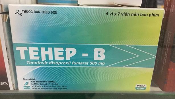 TEHEP - B (Tenofovir disoproxil fumarat 300 mg)