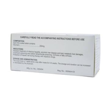 FYNKHEPAR Tablet (Silymarin 200 mg)
