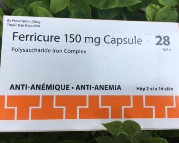 Ferricure 150 mg Capsule