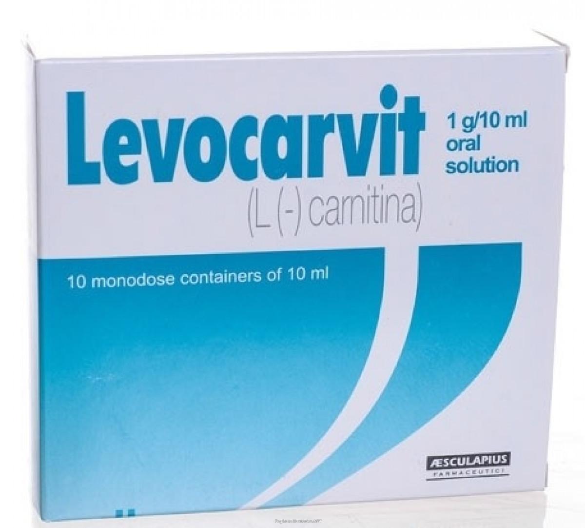 LEVOCARVIT (L-carnitin)
