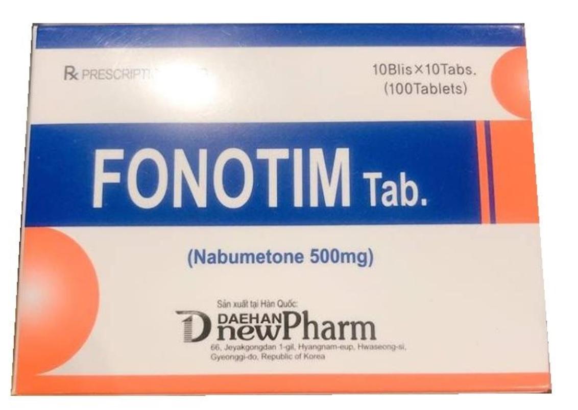 FONOTIM Tab (Nabumeton 500 mg)