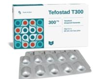 Tefostad T300 (Tenofovir disproxil fumarate)