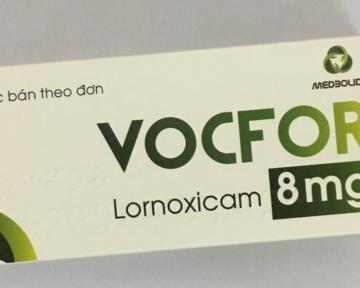 VOCFOR® (Lornoxicam) 4mg - 8mg