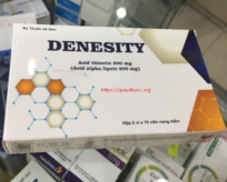 DENESITY (Acid alpha lipoic - acid thioctic 200 mg)