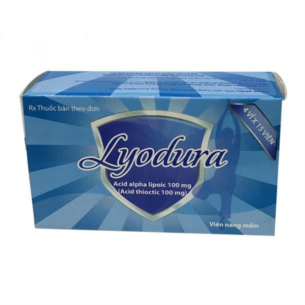 LYODURA(Acid alpha lipoic 100 mg)