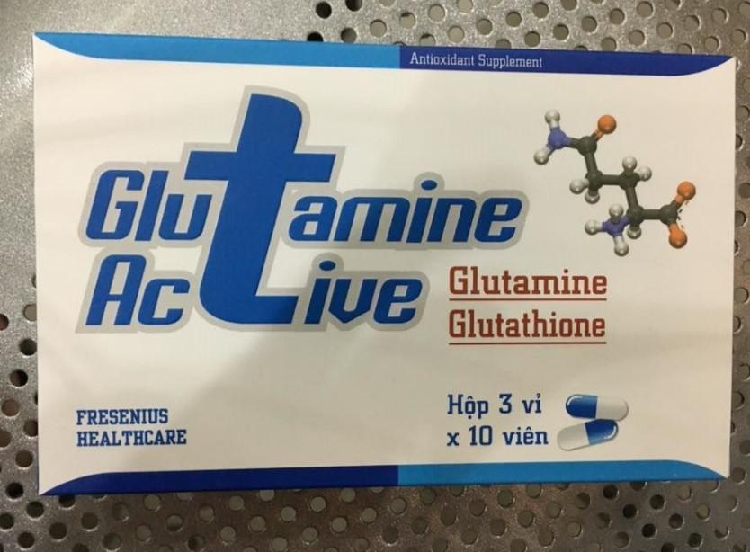 GLUTAMINE ACTIVE (Glutathione & - Glutamine)