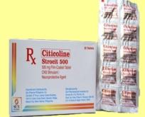 STROCIT 500 ( Citicoline natri)