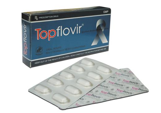 Topflovir (Tenofovir disoproxil fumarat 300 mg)