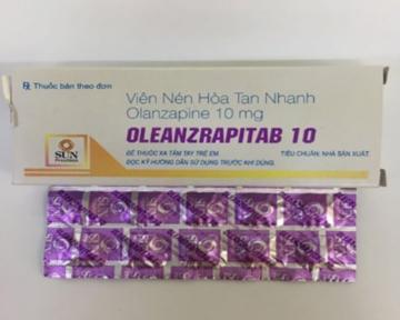 OLEANZRAPITAB (Olanzapine) 5 & 10 mg