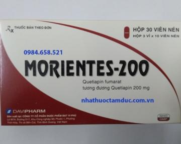 MORIENTES – 200 (Quetiapin)