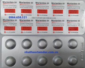 MORIENTES - 50 (Quetiapin)
